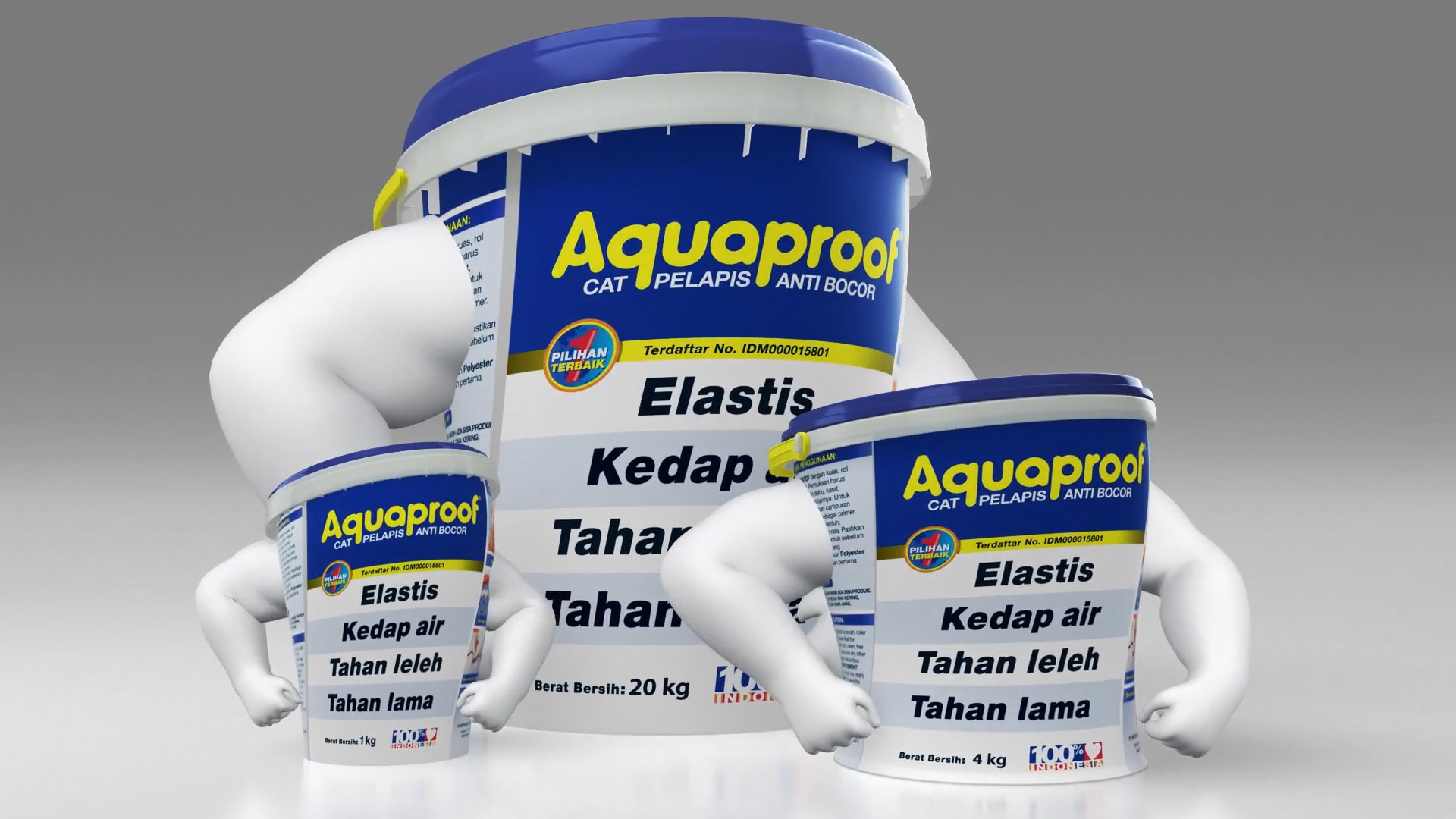 Aquaproof - Transformation
